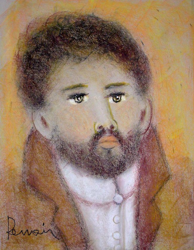 Benedito pintado por Renoir