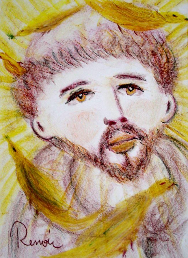 Francisco pintado por Renoir